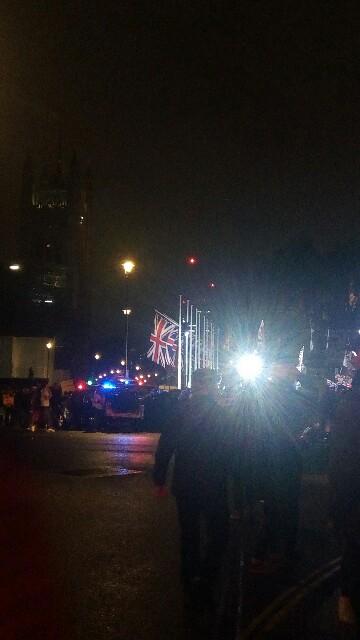 イギリスのEU離脱当日、パーラメントスクエアを見に行ってみて:image