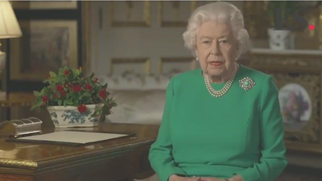 エリザベス女王の緊急スピーチ:image