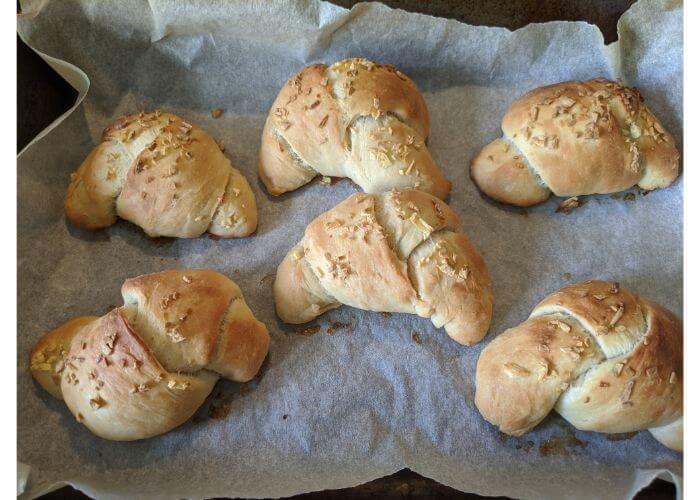 【英語de日記】Baking Bread:plain