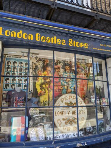 London Beatls Shop:plain