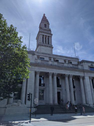 ポール・マッカートニーが2度結婚したThe Old Marylebone Town Hall:plain