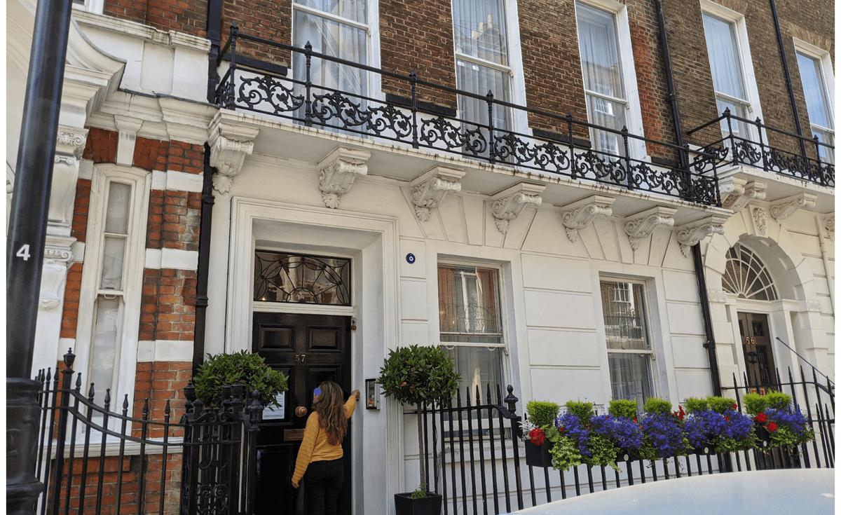 名曲も生まれたスキャンダラスな部屋 57 Wimpole Street:plain