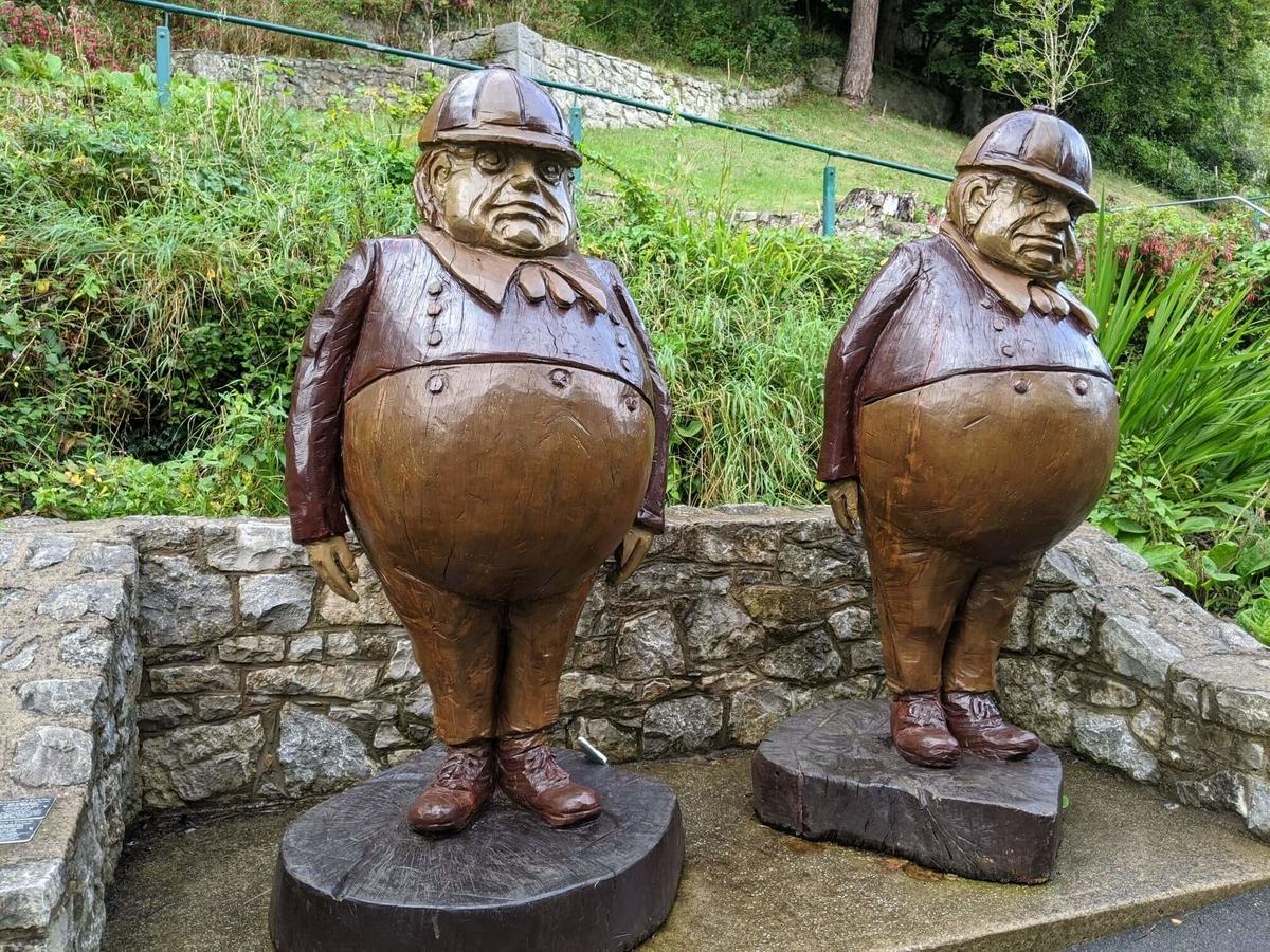 :北ウェールズ観光・スランディッドノ 本物のアリスが休暇を過ごした街plain