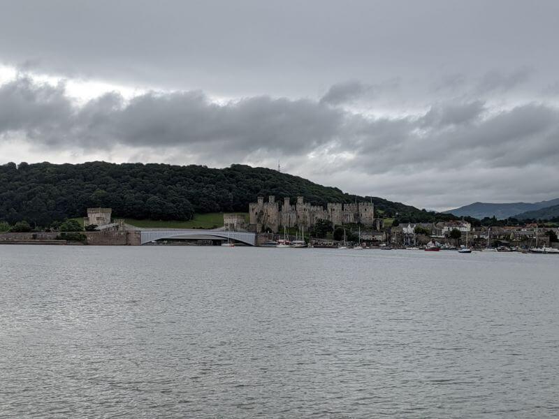 北ウェールズ・コンウィ観光 コンウィ城はラピュタの城のモデル!:plain