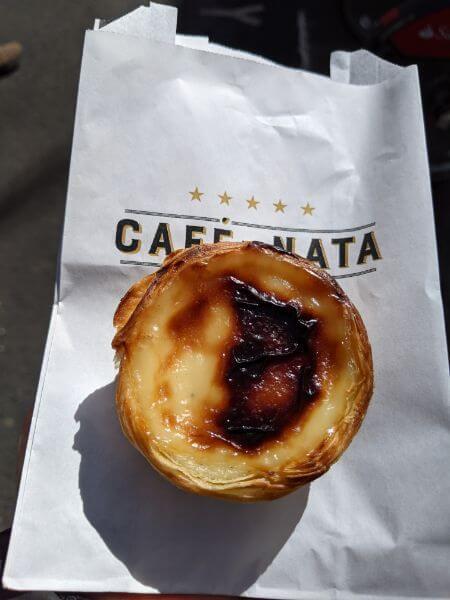 ビーガンパステル・デ・ナタ:plain