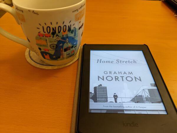 『Home Stretch』グラハム・ノートンが書いた小説【洋書レビュー・英語多読】:plain