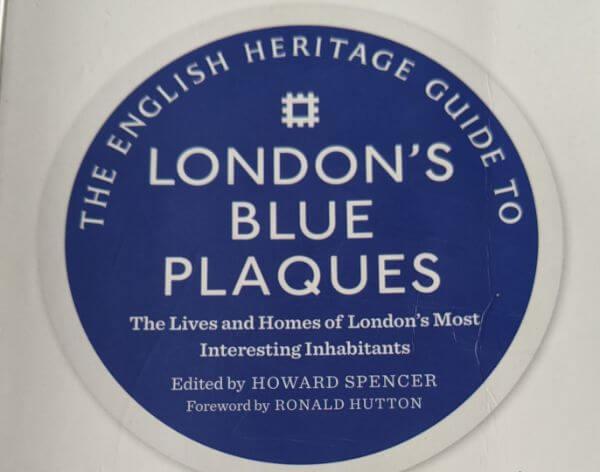 ブループラーク巡り ロンドンに住んでた有名人のお家巡り:plain