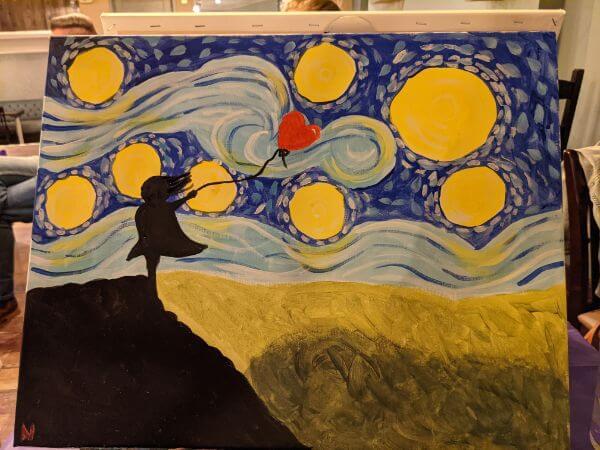 PopUp Painting イギリスでお絵描き教室に行ってきた :plain