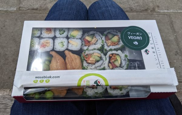 イギリスビーガン寿司:plain
