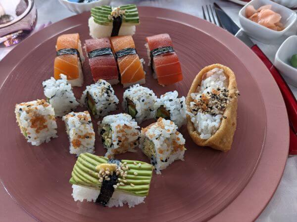 味も見た目も本物そっくりビーガン寿司:plain