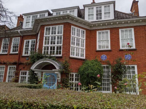 ロンドンのフロイト博物館:plain