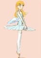 翼のある踊り子