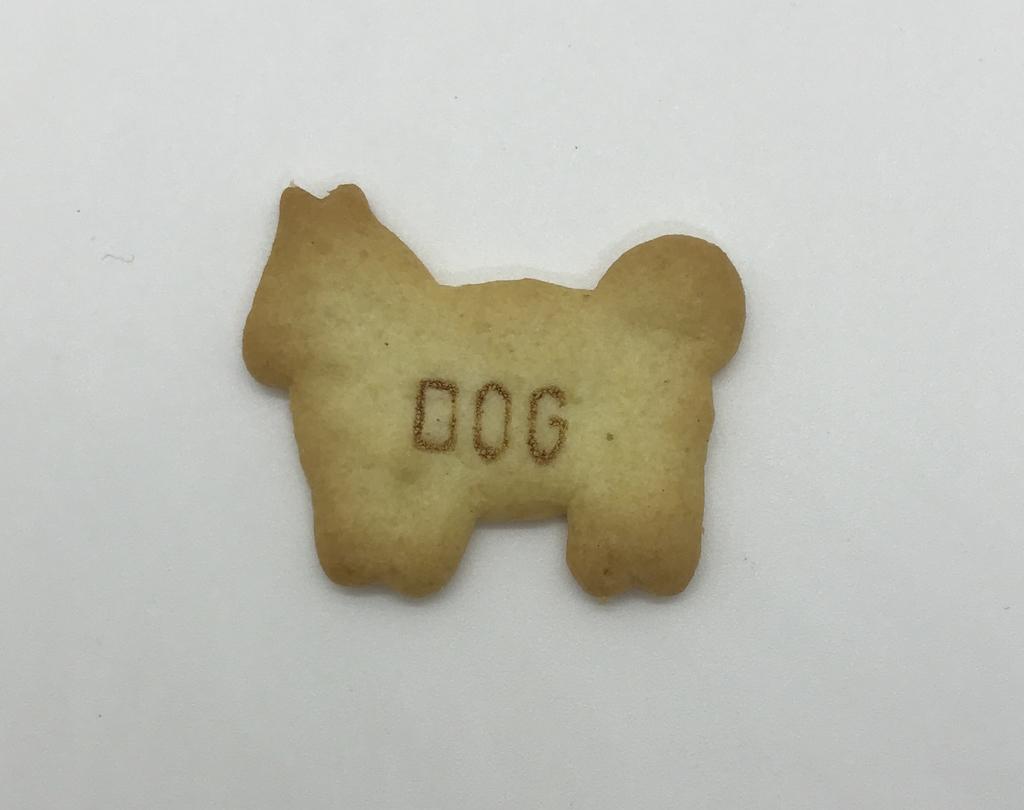 たべっ子動物「dog」