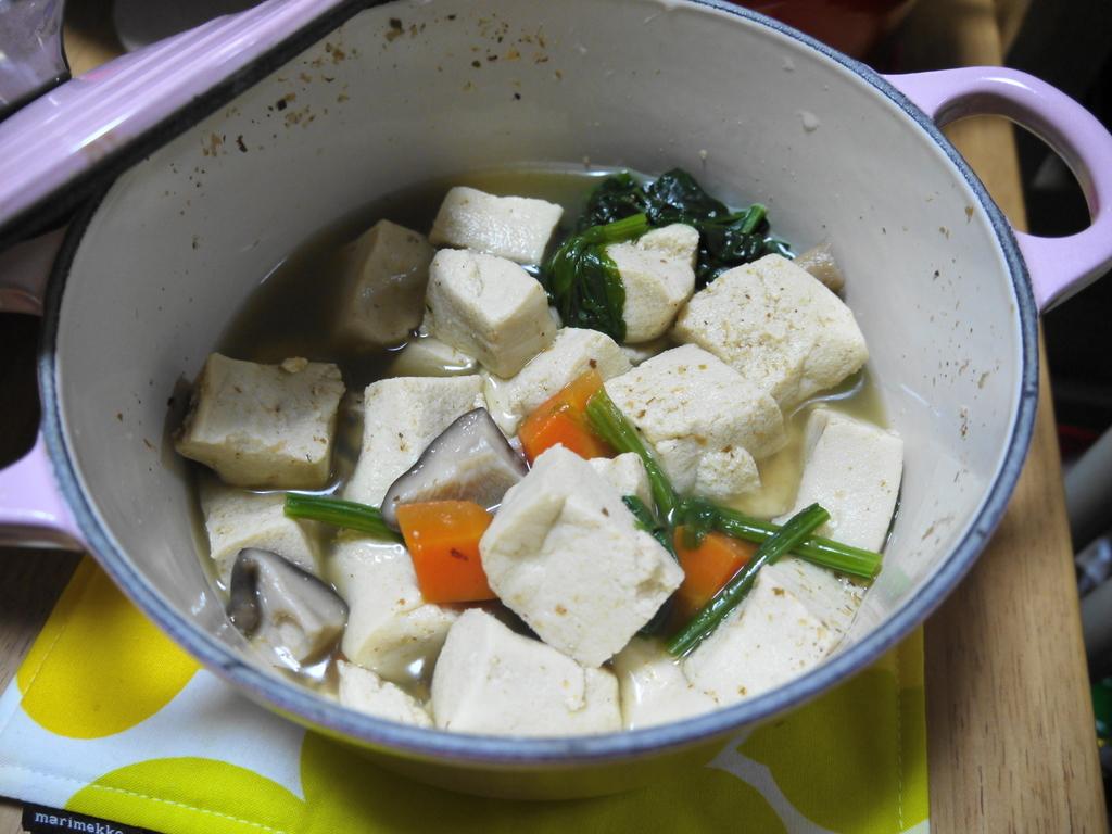 茅乃舎だし 高野豆腐の煮物
