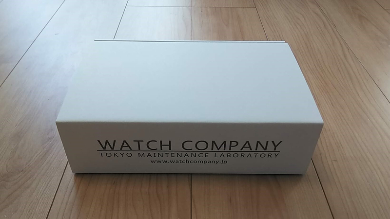 WATCH COMPANY無料包装キット外箱