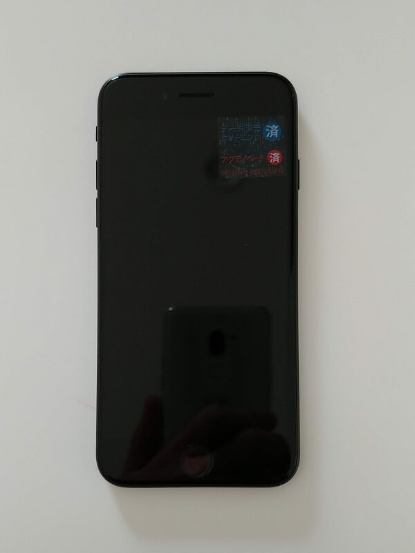 iPhoneSE(第2世代)表面