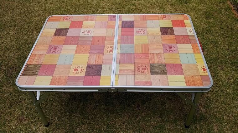 Colemanナチュラルモザイクリビングテーブル