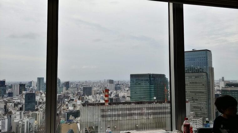 ホテルメトロポリタン丸の内2841号室からの眺め