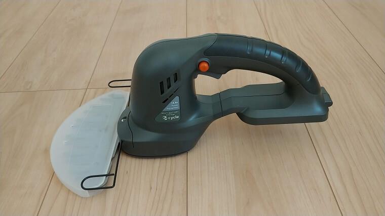 e-cycle充電式芝生バリカンGEC-51(横)