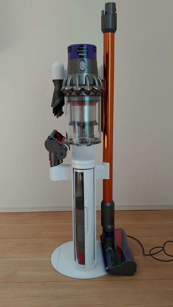 ダイソンコードレス掃除機専用フロアドック