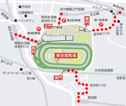 東京競馬場 アクセス
