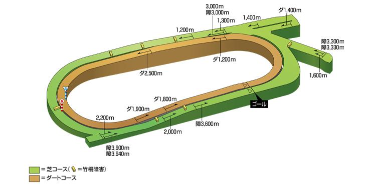 中京競馬場 コース