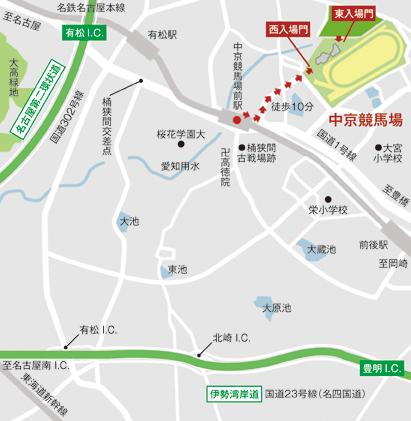 中京競馬場_アクセス