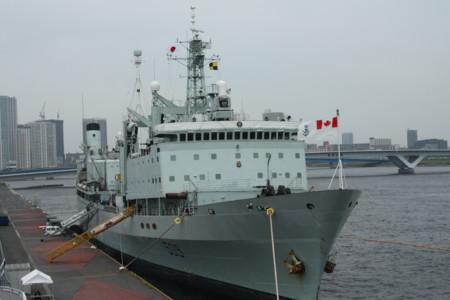 補給艦「プロテクター」(カナダ統合軍海上部隊)