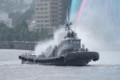 タグボート「曳船67号」
