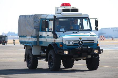 高性能救助車