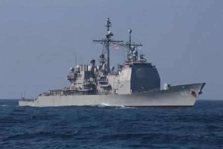 巡洋艦「チャンセラーズビル」