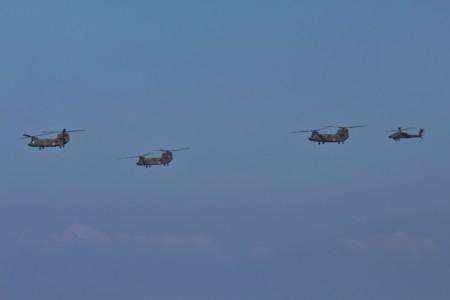 CH-47JA・AH-64D