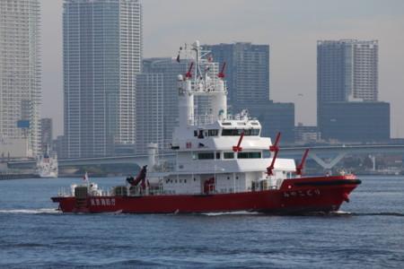 消防艇「みやこどり」