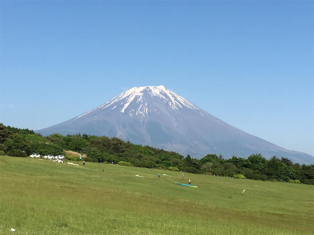 朝霧自然公園 富士山