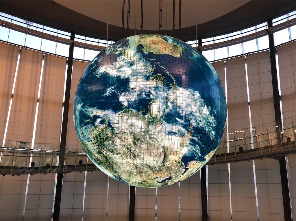 日本未来科学館 地球