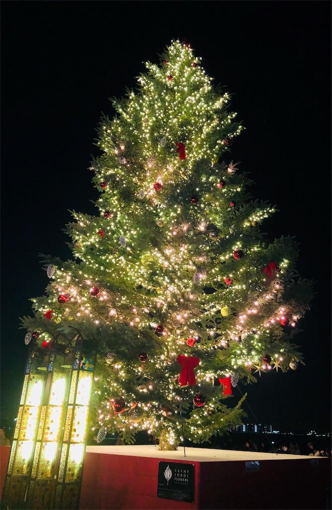 横浜赤レンガ倉庫 クリスマスツリー