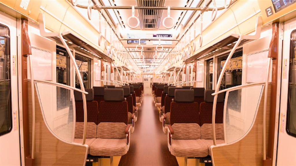 京王線5000系 座席シート