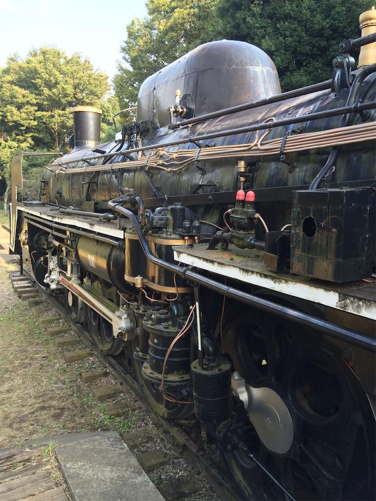 小金井公園 蒸気機関車C57