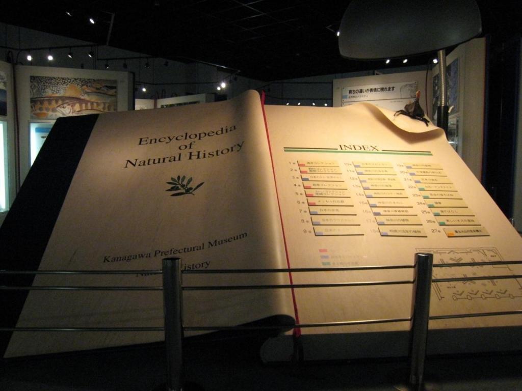 神奈川立生命の星・地球博物館 ジャンボブック展示室