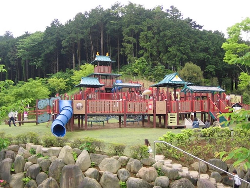 小田原こどもの森公園わんぱくらんど 遊具
