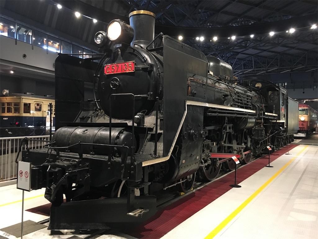 鉄道博物館 国鉄C57形蒸気機関車