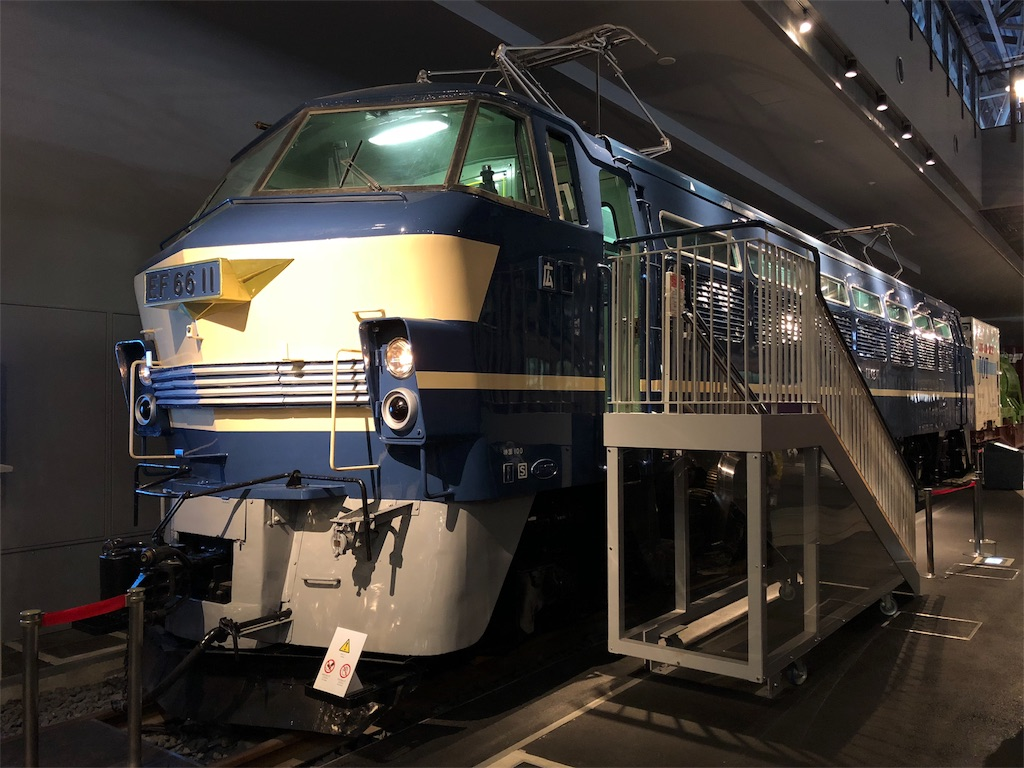 鉄道博物館 EF66形式電気機関車