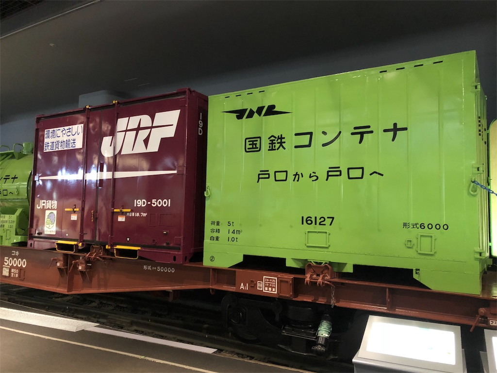 鉄道博物館 貨物列車