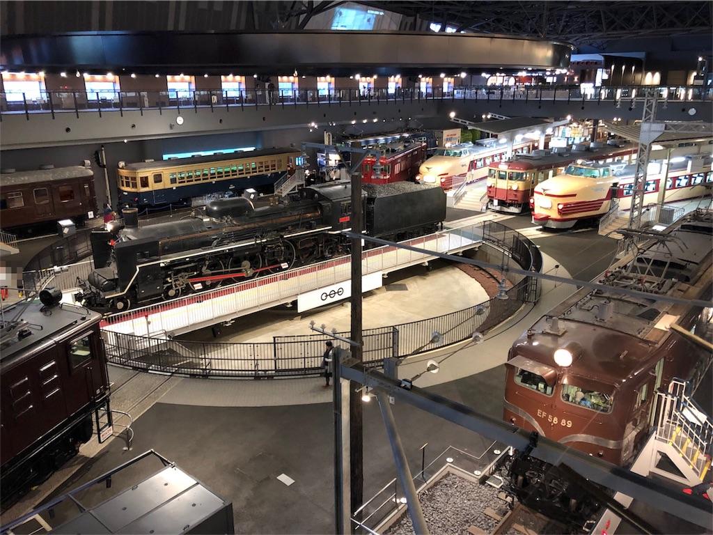 鉄道博物館 車両ステーション