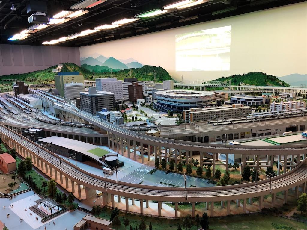 鉄道博物館 ジオラマ