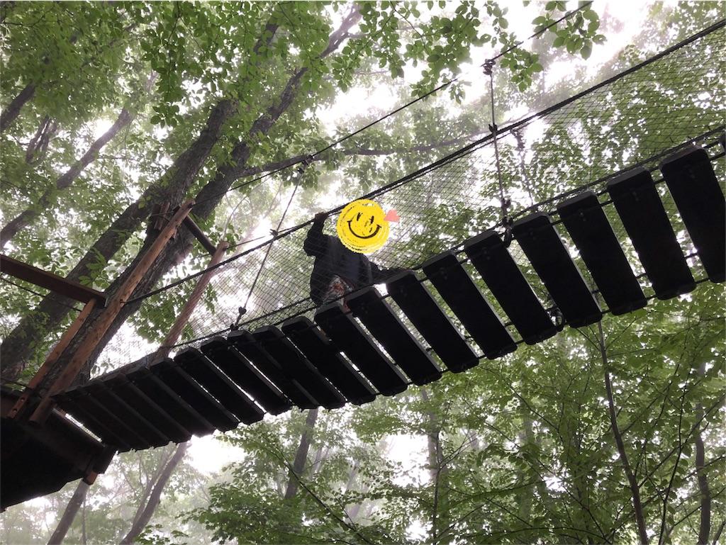 北軽井沢スウィートグラス 吊り橋