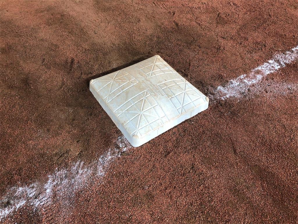 東京ドーム 一塁ベース