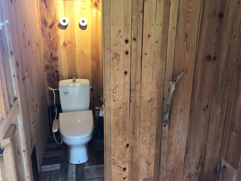 ほったらかしキャンプ場 トイレ