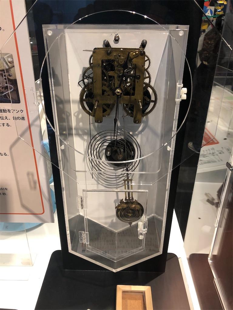 多摩六都科学館 時計のしくみ