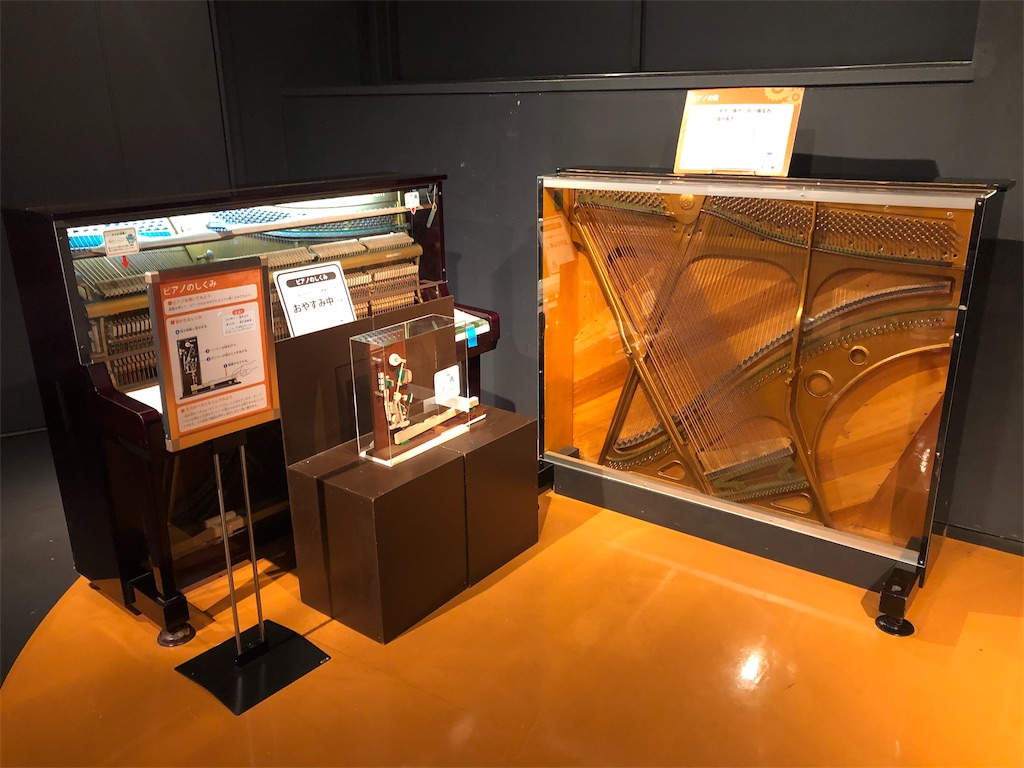 多摩六都科学館 ピアノのしくみ